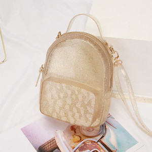 Candy Color Cute Girl Jelly Messenger Bag Shoulder Bags Chain 2019 New Summer Women Small Fashion Simple Handbags