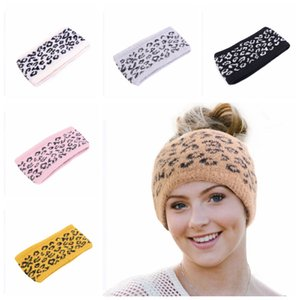 Lady Fashion Women Knitted Warmer fascia Inverno Crochet capelli Ear Band esterna di protezione di Natale del regalo del partito TTA1828