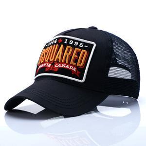 베스트셀러 디자이너 모자 D2 야구 모자 아이콘 캡 자수 럭셔리 남성의 모자 스냅 백 캡 조정 골프 모자