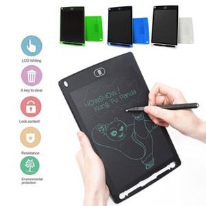 4 couleurs 8,5 pouces Creative écriture dessin tablette Bloc-notes numérique LCD Conseil graphique écriture manuscrite babillard pour les affaires de l'éducation