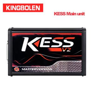KESS v2.53 V5.017 unité principale rouge PCB KTAG V2.25 V7.020 Unité principale (4 LED) panneau rouge NO câbles / CD Version maître OBD2 BDM TRICORE