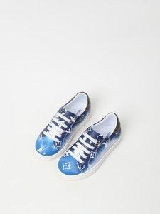 blue kid boy fashion school gym shoes leather vamp China cheap kid boy girl shoes autumn girl sandals slippers eu 26-35