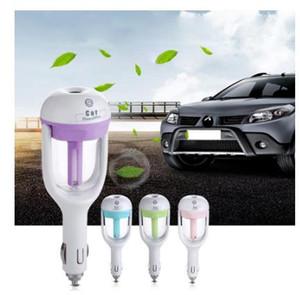 Vapor 1Pcs 12V Car Ar Umidificador Aroma Difusor Mini purificador de ar Essential Oil Difusor Névoa Criador Fogger