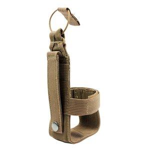 Bouteille durable Tactical Randonnée Camping Molle eau Porte-ceinture Porte-poche extérieure Sac en nylon Bouteille d'eau Pochette Tactical Gear