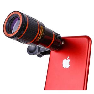 Kits de lentes de cámara para teléfono celular 12X 14X 8X Zoom Telescopio Cámara Lente para teléfono con lente ojo de pez Lente gran angular Macor para teléfono inteligente
