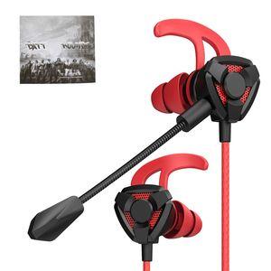Telefon PC PS4 Bilgisayar Kablolu Ses Kontrolü İçin Kablolu Gaming Headset ile Mic G9 Kulak Kulaklık Gürültü Önleyici Kulaklık Stereo Kulaklık