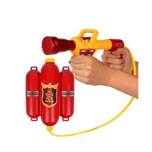 GEEK KING bambini Fireman zaino lancia acqua Gun Beach giocattolo esterno dell'estintore Soaker pistola giocattolo di estate