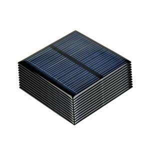 Las células atteries, Panel SUNYIMA 10pcs Paneles Poly 5.5V 80MA policristalino solar de placas células DIY de batería solar del sistema Sunpower ...