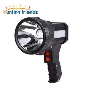 Superbright Protable light USB Gun Taschenlampe Wiederaufladbare 18650 Batterie Inklusive 3-Modus Tactiacl Spotlight mit Seitenlicht