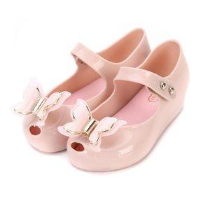 Mini Melissa papillon Enfants Chaussures enfants Jelly Sandales doux fond Princess Girl 2020 nouvelles sandales d'été Filles