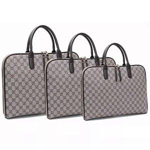 Neue preiswerte Laptop-Tasche 13 bis 17 Zoll macbook Tasche Schulter Computer Männer Aktentasche Messenger Frauenhandtasche Geschäft