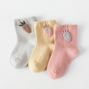 3 Pairs Lot Newborn Baby Socks Cotton Fashion Baby Boy Girl Cute Unisex Infant Fresh Candy Color Toddler Spring Summer Sock