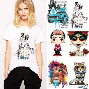 Mignon patch pour l'habillement autocollant de transfert Iron Patch DIY T-shirt 22 Styles