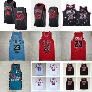 NCAA 33 Scottie Pippen 23 Michael Bull Basket maglie 91 Dennis Rodman Collegio North Carolina State University MJ Mesh Maglie Mens