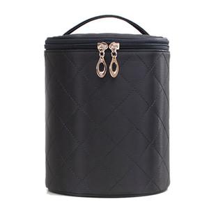 JHD-Storage Bag Home Travel Skin Care Bag Simple Waterproof Cosmetic Large Capacity Multi-Purpose Barrel Suitcase
