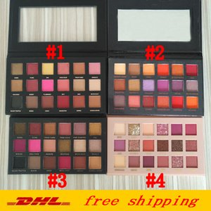 In Stock Eyeshadow Palette Beauty 18 colors shadows palette 5 models DHL free shipping