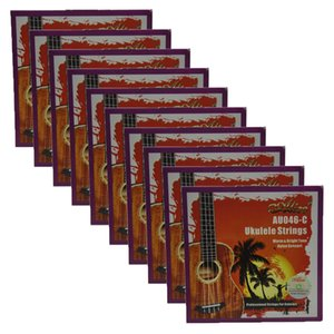 10sets Alice Concert Ukulele cadenas modificadas AU046C Clear Nylon ECGA
