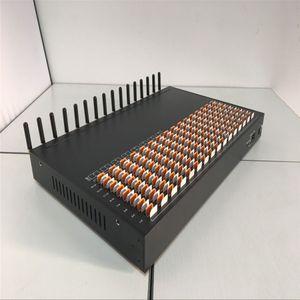 16 canales Página web GSM 2G Módem SMS 256 tarjetas SIM Girar puerta de enlace para envío y recepción de SMS a granel