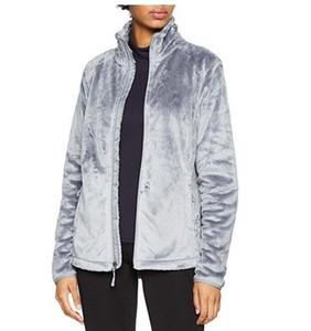 Новый Север Зима Женская Мягкие флисовые Osito куртки пальто вскользь Brand Ladies Мужские Дети Ski вниз Теплые пальто S-XXL Черный Розовый