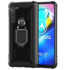 Wholesale Universal Cell Phone Case For Moto G Stylus TPU And PC With Phone Ring Holder Phone Cover For Samsung A31