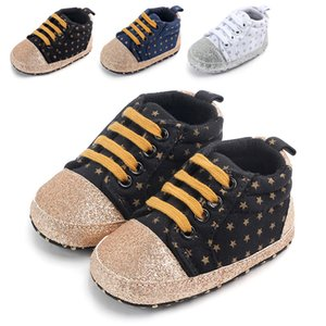 Baby Boys Shoes Newborn Girls Sneakers Breathable Anti-Slip Toddler Soft Soled Casual Walking Shoe