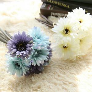 El yapımı Gerbera Ziyafet Dekor Yapay Gerbera Daisy Sahte İpek Çiçek Düğün Evi Bahçe Dekor