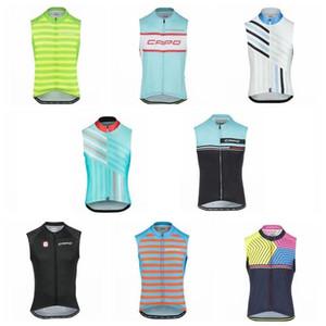Pro Team CAPO 2019 Велоспорт без рукавов Джерси велосипедная одежда лето гоночный велосипед одежда Ropa Ciclismo Hombre MTB спортивная одежда 304517