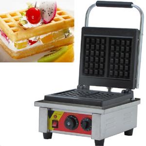 110 v 220 v Elektrikli Beligan Brüksel Waffle makinesi Makinesi 2 adet CE Belgelendirme Ile Yumurta Waffle Demir Baker Tost Makinesi Fırın