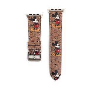 Moda congiuntamente pelle PU cinturino cinturino per la mela 38 40 42 44 millimetri di Smart Orologi sostituzione con connettore dell'adattatore per la mela Serie 321