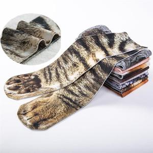 Padrão Rubu 2020 New Hot Casual Men Socks engraçado animal longa do grupo de Socks animais em 3D Imprimir Homens Meia Masculina 5VB103