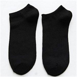 Mens bequeme beiläufige Solid Color Socken Mode Atmungsaktivität und Schweißabsorption Socken Herren Designer-Socken