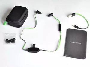 لاسلكي الماسح المطرقة V2 BT سماعات بلوتوث اللاسلكية سماعات الأذن في وميكروفون مع صندوق البيع بالتجزئة في الأذن
