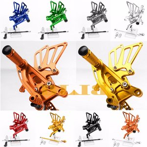 8 Farben für NSR250 MC21 1990-1993 1992 1991 Motorrad Verstellbare Fußrasten CNC-Fußrastenanlage Fußrastenanlage NSR 250 MC 21 Pedal