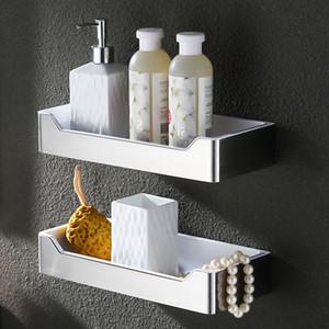 Saluto in acciaio inox 304 doccia mensola angolo Mensola bagno cestino