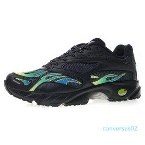 CO02 shoes36-45 2018 zapatos de diseño racha Espectro transpirable superior exquisita llama de impresión retro zapatos deportivos casuales