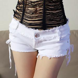 Promotion lady Micro Mini Denim Shorts Fashion Ladies Nightclub Jean Shorts short Denim Trousers Hot Sale 2 Colors
