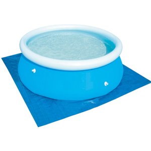 Piscina acima do solo piscina pano piscina inflável acessório piscina piso de pano tecido para 240 300 360 cm