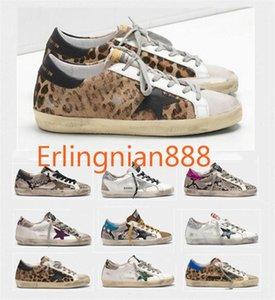 Moda Itália Goleden Old Style DB Sneakers Couro vilosidades Derme calçados casuais dos homens / mulheres Superstar instrutor Size35-45