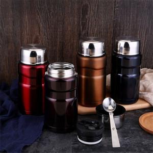 Stainless Steel Magic Beaker Preserve Heat Lunch Box Stainless Steel Vacuum Stew Pot Smoldering Tank Insulation Cup