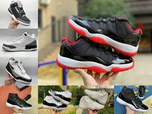11 Basketball shoes 11s Jumpman Bred Concord 45 Space Jam Cap and Gown Men coach Sneakers Gamma Blue Low women Trainers