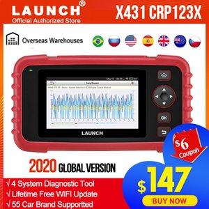 발사 X431 CRP123X 진단 도구 자동 코드 리더 EOBD OBD2 스캐너 엔진 변속기 ABS SRS AutoVIN WIFI PK CRP123 VII +