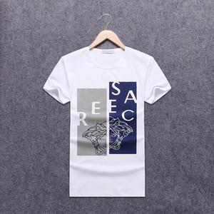 Mens Designer Shirt Summer Tops Casual T Shirts for Men Women Short Sleeve Shirt Brand Clothing Letter Pattern Printed Tees Crew Neck black