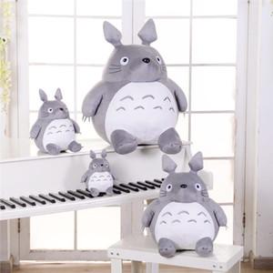 Sıcak Totoro Yumuşak Doldurulmuş Hayvan Yastık Komşum Totoro Peluş Bebek Oyuncak Yastık İçin Çocuk Bebek Doğum Noel Hediyesi 20/08 / 30cm