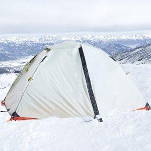 Hewolf Tenda professionale a doppia esterna della tenda di attrezzature da campeggio selvaggio Four Seasons Anti-Temporale Camping