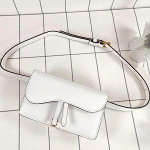 Mode Klassische Herren- und Damen-Universal-Gürtel-Tasche Luxus-Leinwand mit Ledergürtel-Tasche Designer Handtasche Messenger Bag