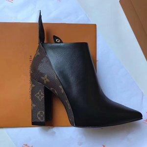 2Новые горячие продавать модные женские сапоги 100% кожаные высокие каблуки весной и осенью женская обувь банкет зимняя женская обувь сапоги