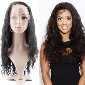 Beauty 100% Brazilian Human Hair 360 Lace Frontal wigs With Baby Hair Natural Wave Pre Plucked Lace Front wigs For Black Women