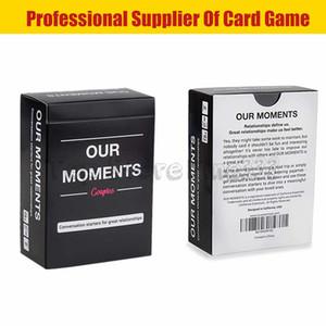 MOMENTS Couples Card Game Card Bestes Party-Spiel Genieße die Verabredung auf eine völlig neue Art und Weise