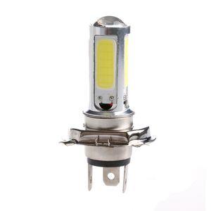 2X DC 12V White Light H4 COB 51 LED 25W Motor Indicator Bulb Car Light Source Lamp