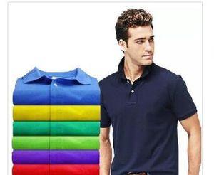 2020 Mens Designer Marque cheval Crocodile Polos lettre tissu vêtements hommes broderie polo t-shirt col tops shirt tee t-shirt décontracté